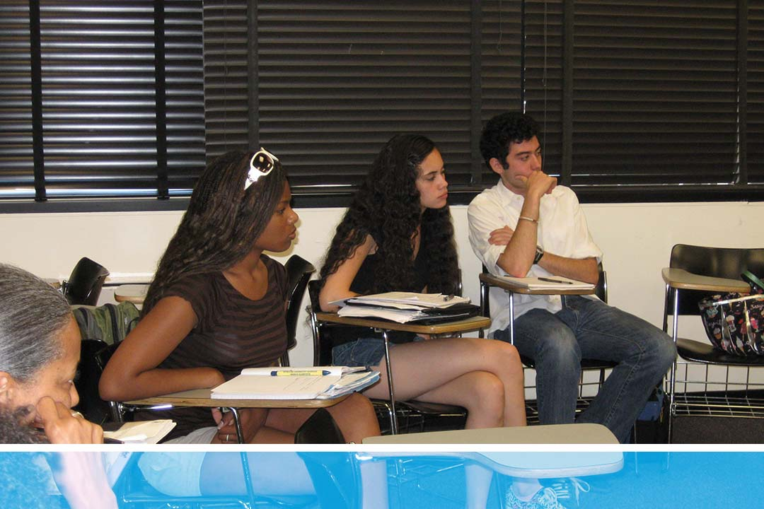 GW Students in Classroom
