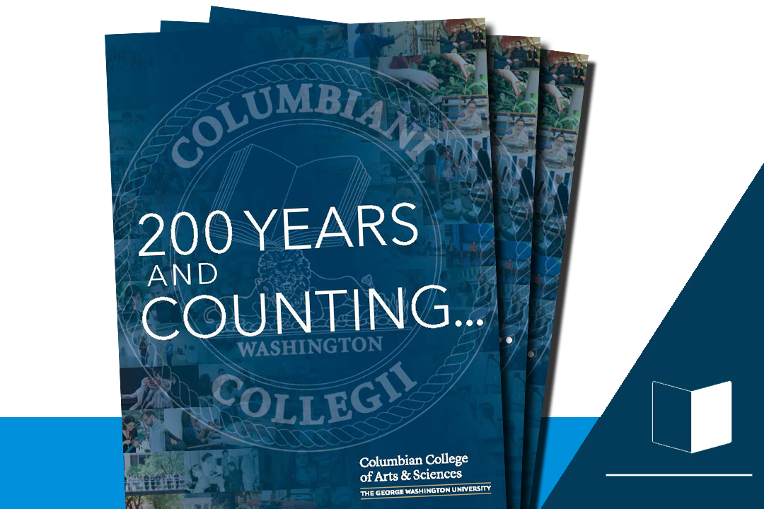 200 Years and Counting: Columbian College of Arts and Sciences seal