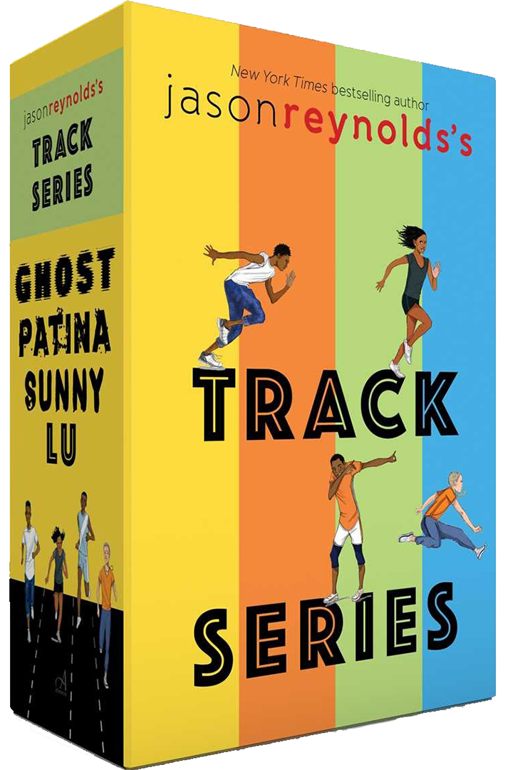 Book Cover: Track Series: Ghost; Patina; Sunny; Lu by Jason Reynolds
