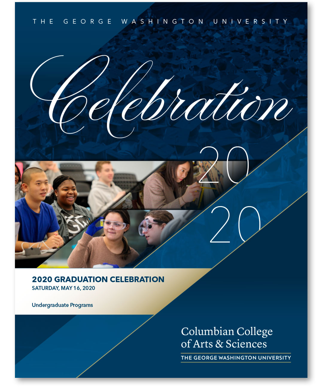 Thumbnail of the CCAS Undergraduate Celebration program booklet cover
