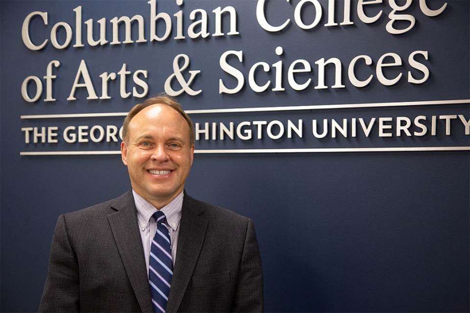 Paul Wahlbeck, dean of the Columbian College of Arts and Sciences