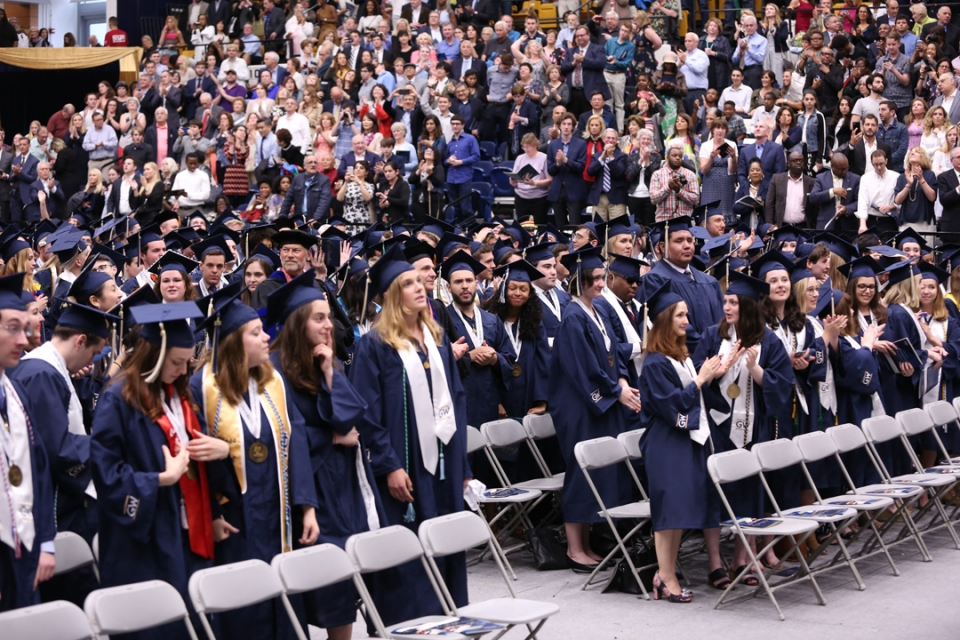 2018 Columbian College Undergraduate Celebration 03:30 P.M. Ceremony