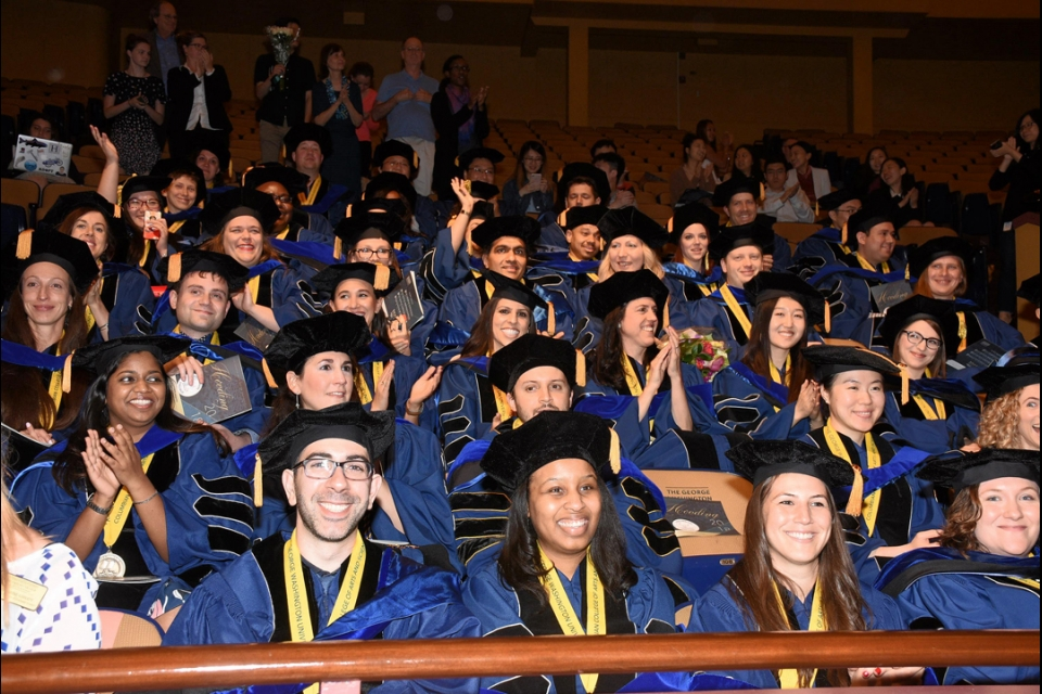2018 Columbian College Doctoral Hooding
