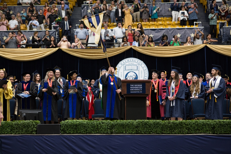2019 Columbian College Undergraduate Celebration 03:30 P.M. Ceremony
