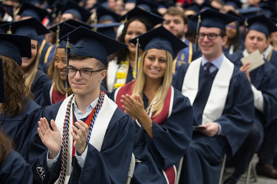 2019 Columbian College Undergraduate Celebration 12:00 P.M. Ceremony