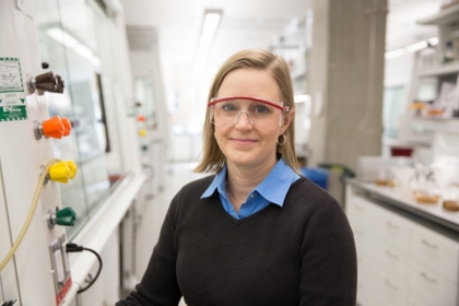 Assistant Professor of Chemistry Cynthia Dowd (Photo: William Atkins)