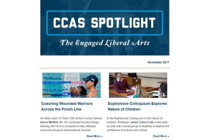 CCAS Spotlight November 2017 Thumbnail