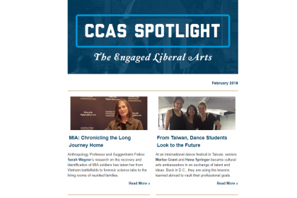 February 2018 CCAS Spotlight