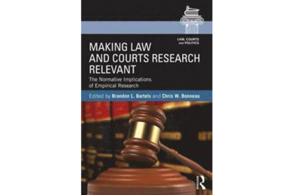 Picture of book cover Making Law and Court count