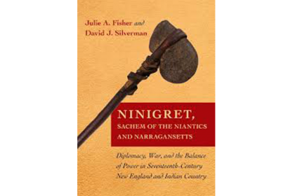 Photo of book cover to Ninigret