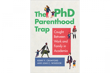 The PhD parenthood trap book cover