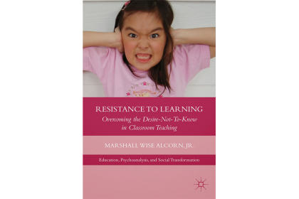Photo of book cover Resistance to Learning