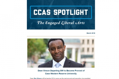 CCAS Spotlight March 2018