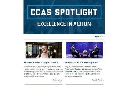 April 2017 CCAS Spotlight