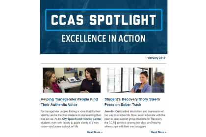 February 2017 CCAS Spotlight