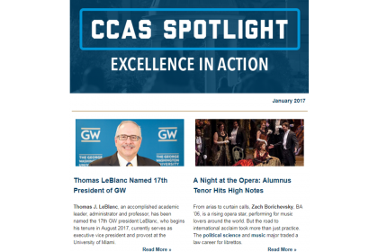 January 2017 CCAS Spotlight