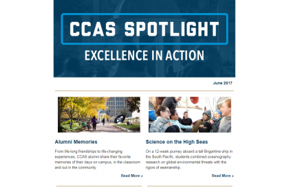 June 2017 CCAS Spotlight screenshot